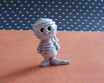 Halloween 3D Mummy Silicone Mold Cake Tool Fondant Chocolate Candy Cupcake Topper Polymer Clay DIY Craft
