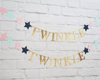 Twinkle Twinkle Little Star Banner Kit