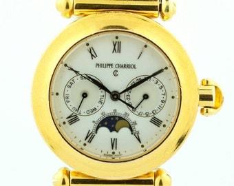 Philippe Charriol 37.90.1177 Christopher Columbus Two Tone 18K/Steel Men's Watch