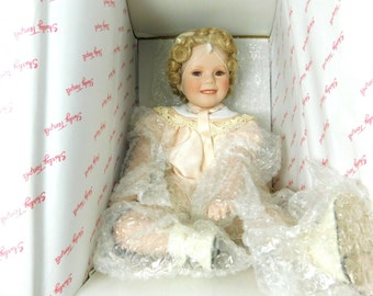 Danbury Mint Little Miss Shirley - Shirley Temple Toddler Doll Collection