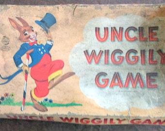 Vintage 1954 Uncle Wiggily Board Game