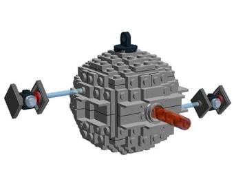 BrickCrafts Build-Your-Own LEGO® Starkiller Base Christmas Ornament