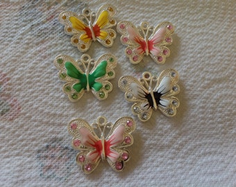 Large Butterfly Charm 1 only