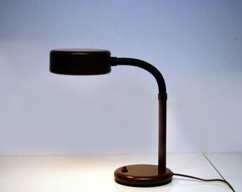 Hala Zeist desk lamp-Brown ca. 1970s