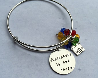 UP Hand-Stamped Bangle