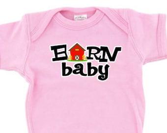 Barn Baby Infant Creeper Bodysuit