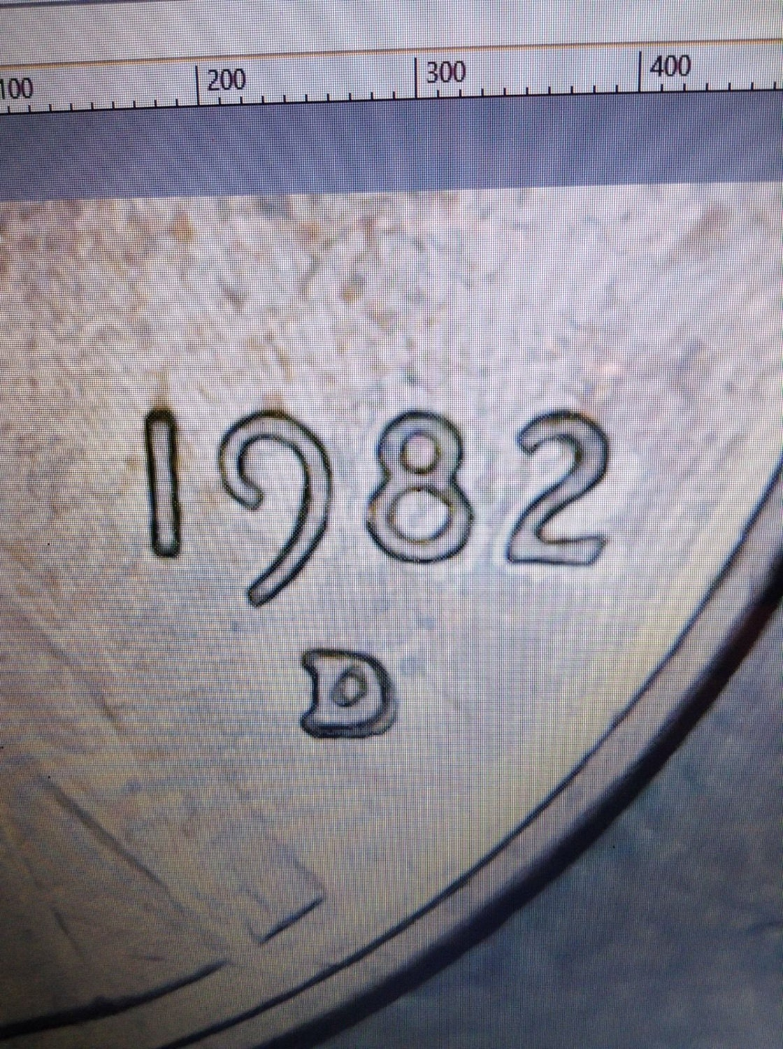 1982 D Lincoln Cent Double D Rare Penny Ddo Mint Error Free