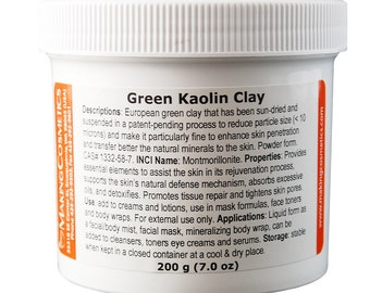 Kaolin Clay, Green