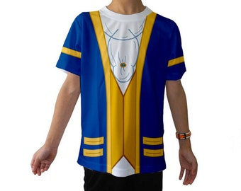 Kid's Beauty and the Beast Inspired Disneybound Shirt