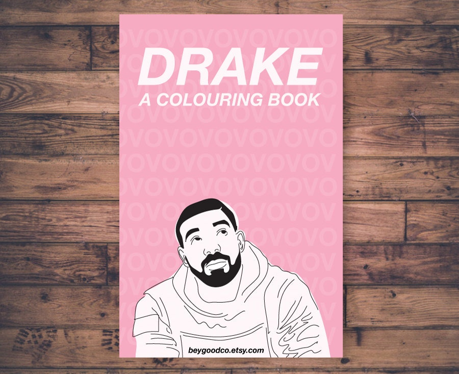 Printable drake coloring book great christmas gift 10 for Drake coloring pages