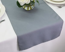 Unique Grey Table Runner Related Items Etsy