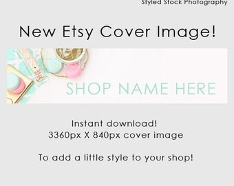Etsy Cover Photo / Etsy Cover Image / Premade Etsy Banner / Premade Cover Photo / Shop Banner / Cover Image / Stock Photo / Style-110