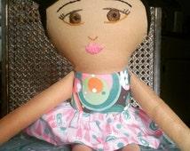 Custom Girl Cloth Doll