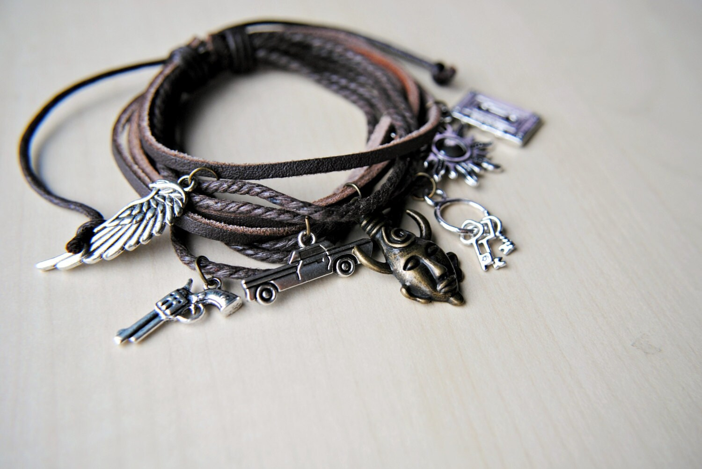 dean winchester bracelet supernatural inspired