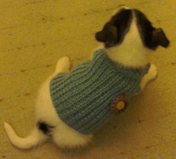 Knitting Pattern For Bearded Dragon : Dog Sweater Clothes Hand Knit Dog Sweater Dog Jumper
