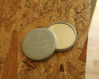 Feather Pocket Mirror