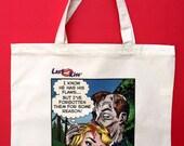 Zombie Amnesia: Comic Tote Bag