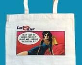 I'm Hot Stuff: Comic Tote Bag