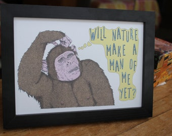 The Smiths Morrissey Illustration Art Print