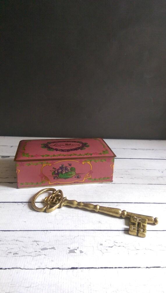 Brass Skeleton Key Bottle Opener Vintage Brass Key Brass