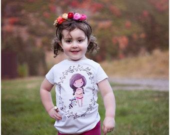 Princess Pocahontas, Princess Pocahontas Shirt, Pocahontas Birthday Outfit, Pocahontas Birthday Theme, Pocahontas Newborn Gift
