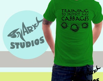 Avatar The Last Airbender - Training to Protect MY CABBAGES T shirt