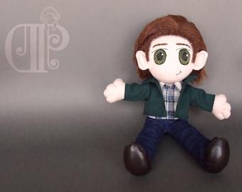 Sam Winchester Supernatural Doll Plushie Toy Jared Padalecki
