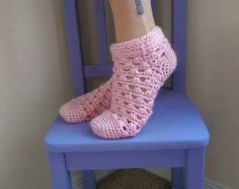Lazy Daisy Socks Crochet Pattern *PDF DOWNLOAD* Instant Download