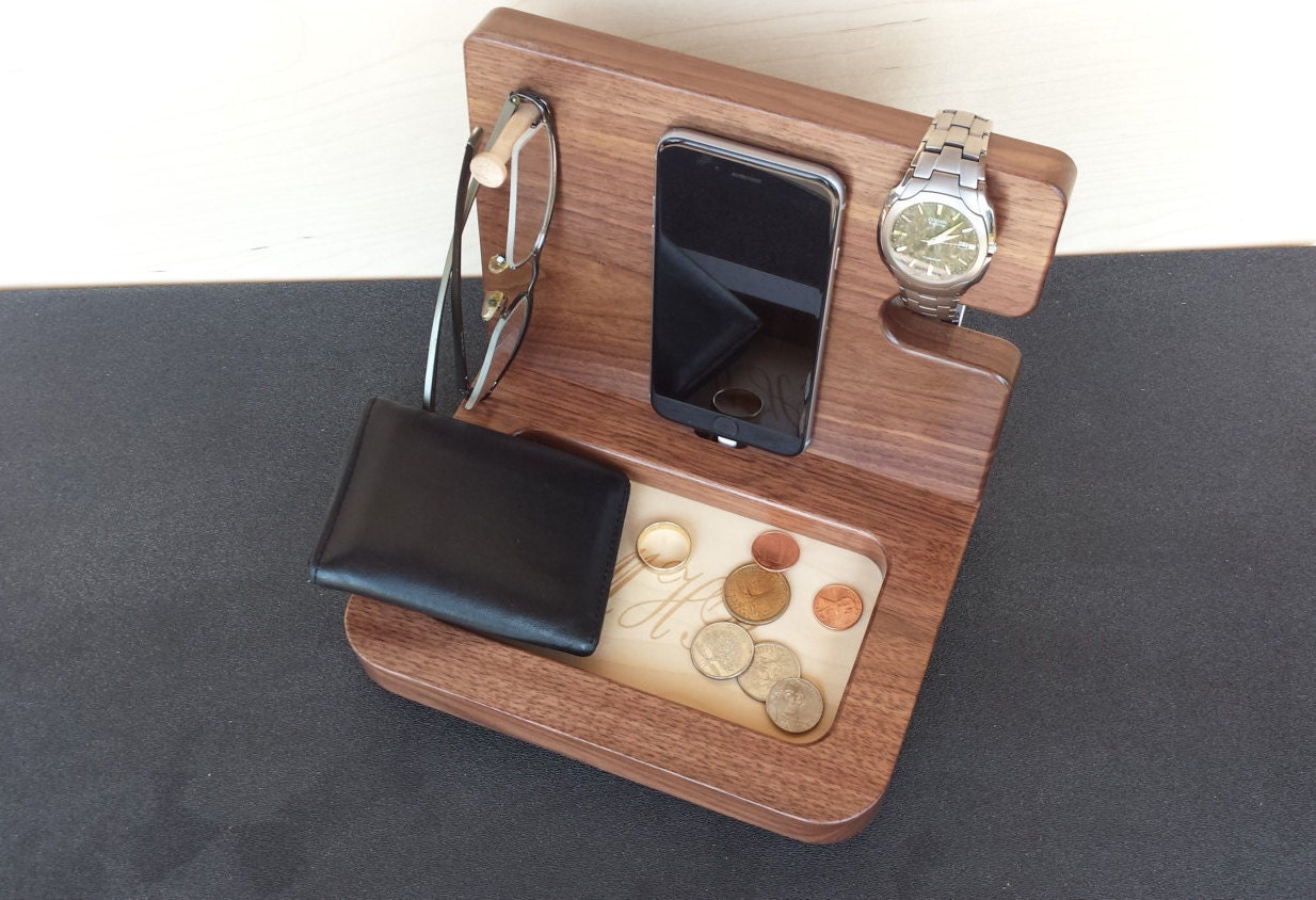Wooden Charging Station Gifts for men Gift Ideas by ...