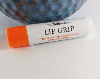 All Natural Creamsicle Lip Balm, Orange Chapstick, Lip Balm