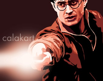 HARRY POTTER CHARACTERS -  Six choices! - 18x24 Prints