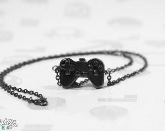 Geek Necklace Nerd Couples Game Controller