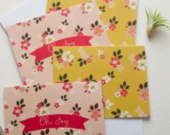 floral stationary, stationary cards, stationery set, blank note cards, note card set, modern stationery, floral note cards, pack of cards