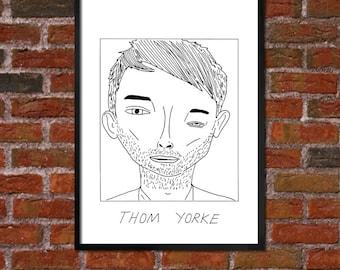 Badly Drawn Thom Yorke - Poster