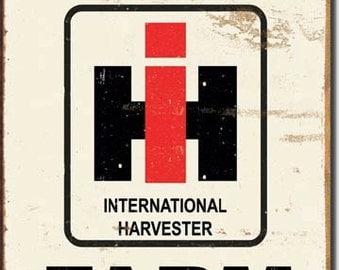 Harvester etsy for International harvester decor