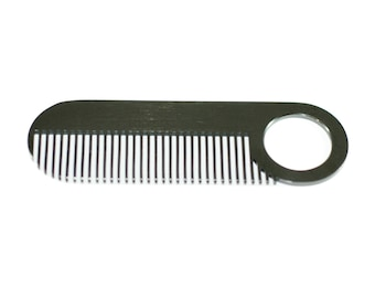 Model No. 2 Black beard and mustache comb