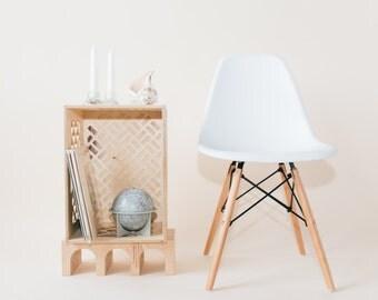 Record Storage // Wooden Milk Crate // Vintage Inspired Milk Crate // Replica Milk Crate