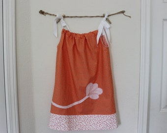 girls dress size 4 or 4T pure cotton hand embroidered