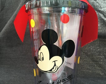 New Disney inspired 16oz tumbler Mickey Mouse  Double Wall
