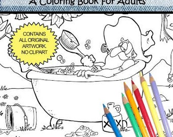 The Hillbillies - Coloring Book for Adult - by Chroma Tomes
