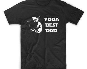 Father's Day T Shirt, Yoda Best Dad Tshirt - Fathers Day Gift, Starwars, Yoda Tee Shirt, Papa Tshirt, Grandpa T-Shirt, Gift for Husband, Him