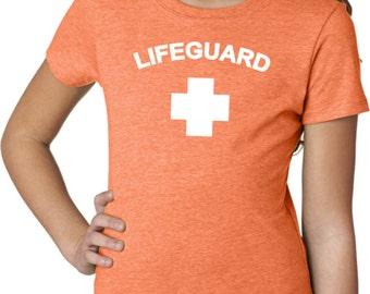 Lifeguard Girls Tee T-Shirt LIFEGUARD-3712