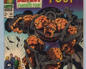 Fantastic Four 68 Nov 1967 VF (8.0)