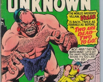 Challengers of the Unknown 52 Nov 1966 VG+ (4.5)