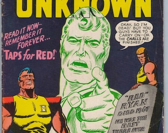 Challengers of the Unknown 55 May 1967 VG+ (4.5)