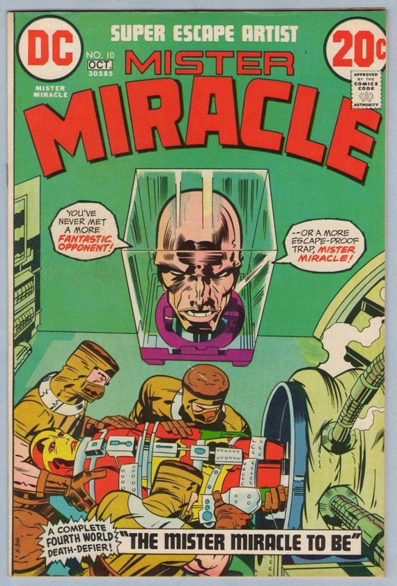 Mr. Miracle 10 Oct 1972 FI-VF (7.0)