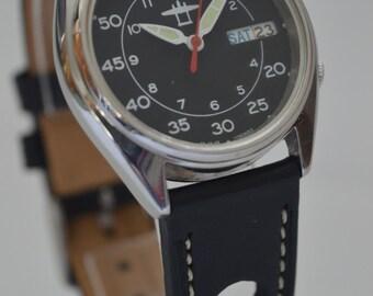 Seiko Yobokies Custom Mod Automatic Pilot Watch