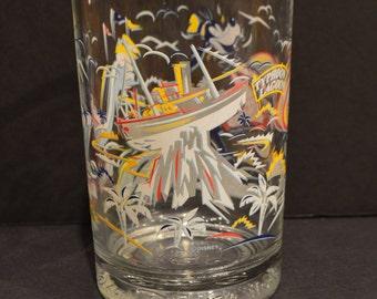 Walt Disney World 25th Anniversary McDonalds Glass-Blizzard Beach Goofy