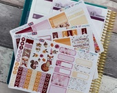 Woodland Wonderland Mini Planner Stickers Kit