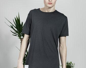 Plain Organic T-shirt - Grey